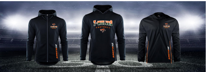 Spirit Gear for Sale - Support MWP Football